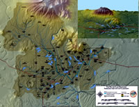 Rio Watershed through Flagstaff - 3D