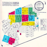 1901 Sanborn-Perris Map of Flagstaff
