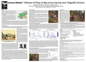 Poster prepared for the 2013 Biennial Conference of Research on the Colorado Plateau