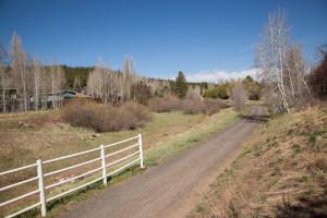 FUTS, Flagstaff Urban Trail Systen along the Rio de Flag, near Coconino Park, south of Crescent Drive, Flagstaff, Arizona